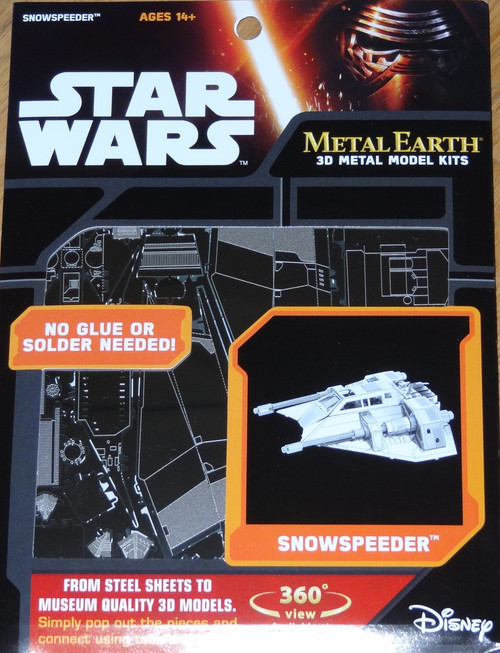 Snow Speeder Star Wars Metal Earth