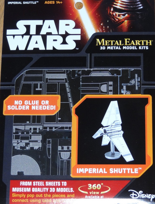 Imperial Shuttle Star Wars Metal Earth