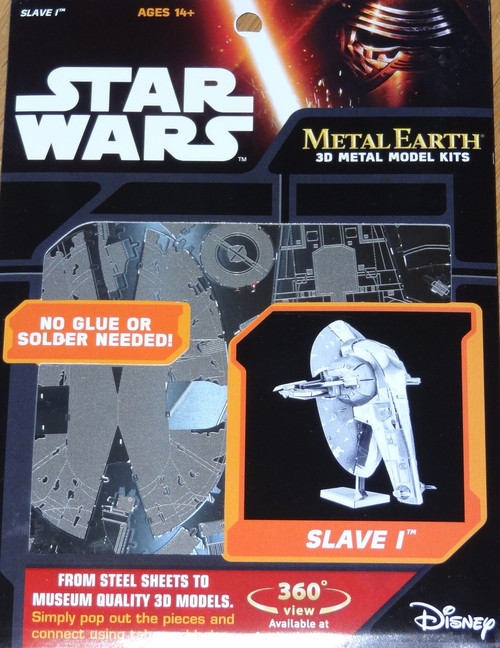 Slave 1 Star Wars Metal Earth