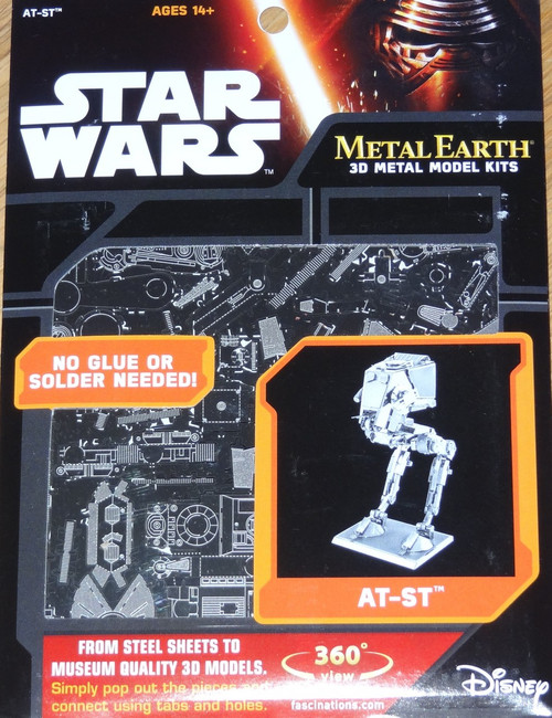 AT-ST Wars Metal Earth