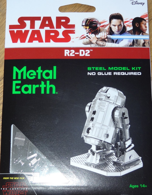 R2-D2 Star Wars Metal Earth