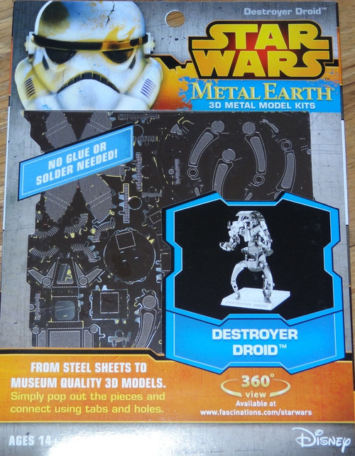 Destroyer Droid Star Wars Metal Earth