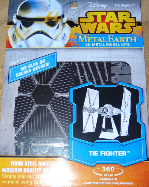 Tie Fighter Star Wars Metal Earth