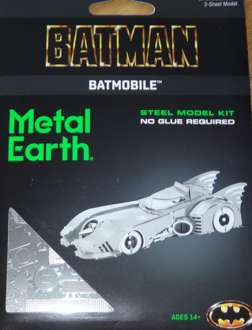 Batmobile 1989 Batman Metal Earth