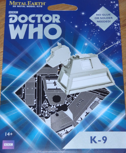 K-9 Doctor Who Metal Earth