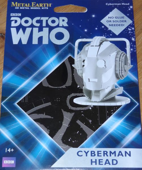 Cyberman Head Doctor Who Metal Earth