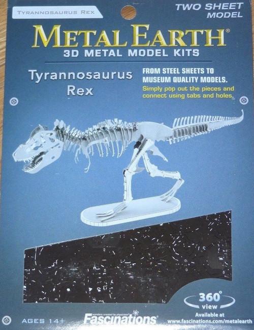 Tyrannosaurus Rex Dinosaur Metal Earth