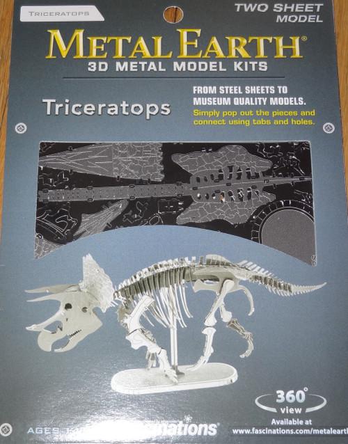 Triceratops Dinosaur Metal Earth