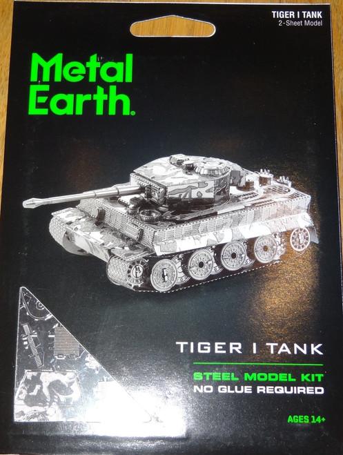 Tiger 1 Tank Metal Earth