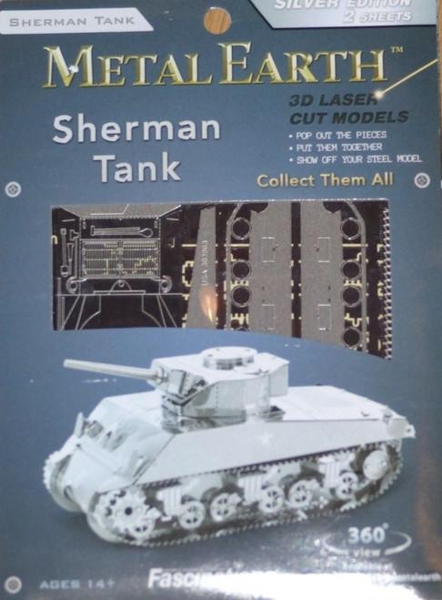 Sherman Tank Metal Earth