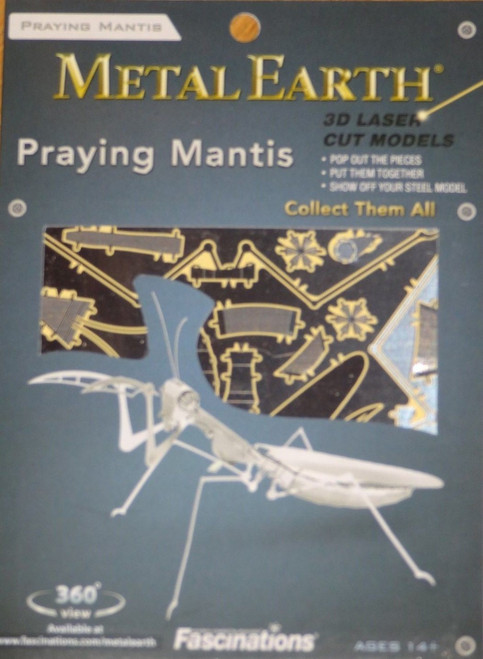 Praying Mantis Metal Earth