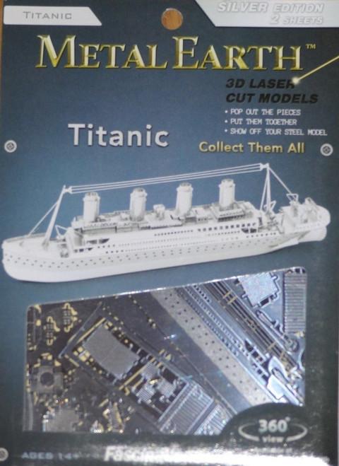 Titanic Ship Metal Earth