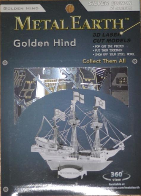 Golden Hind Ship Metal Earth