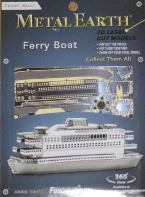 Commuter Ferry Boat Metal Earth