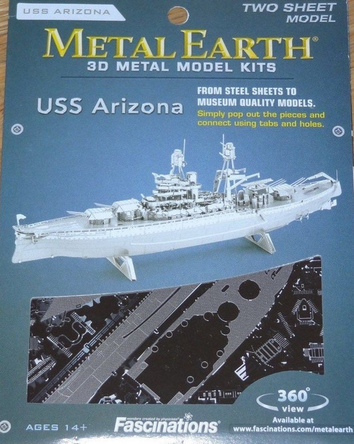 USS Arizona Metal Earth