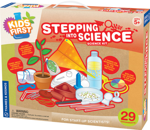 Kids First Stepping Into Science Experiment Kit