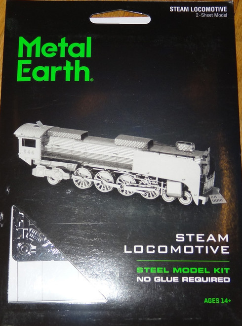 Steam Locomotive Train Metal Earth