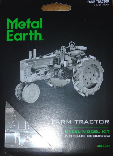 Farm Tractor Metal Earth