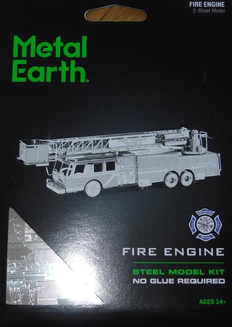Fire Engine Metal Earth