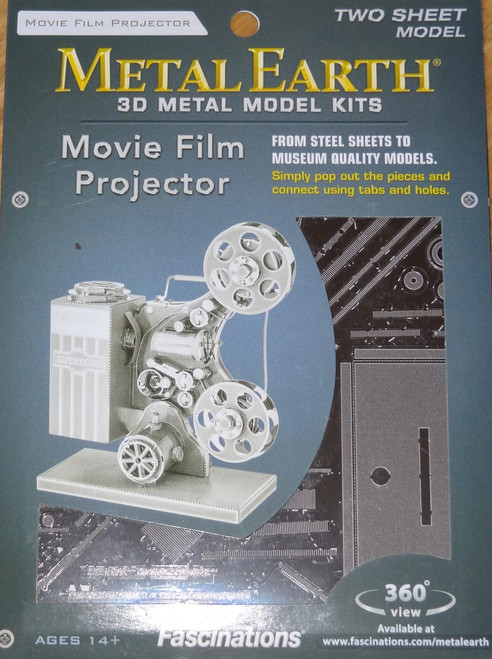 Movie Projector Metal Earth