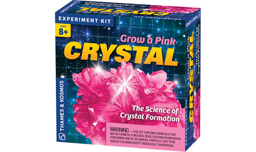 Grow A Pink Crystal Experiment Kit