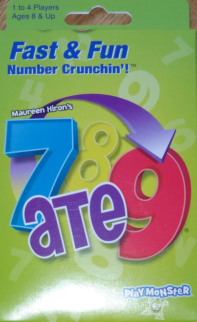 7 ate 9 Fast & Furious Number Crunchin'! Card Game