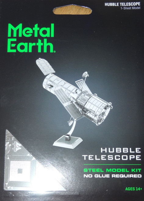 Hubble Telescope Metal Earth