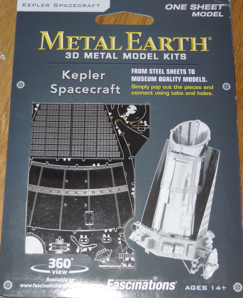 Kepler Spacecraft Metal Earth