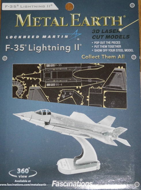 F-35 Lightning II Airplane Metal Earth