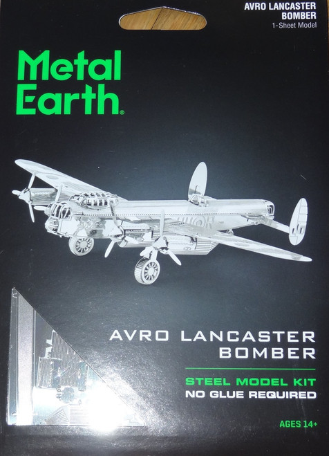 Avro Lancaster Bomber Airplane Metal Earth