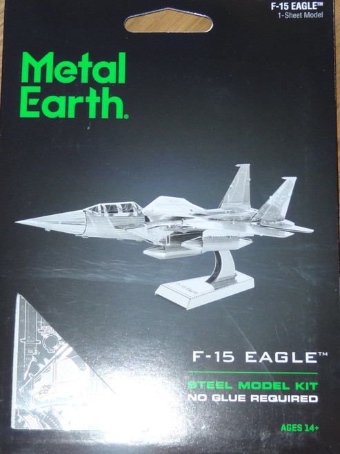 F-15 Eagle Airplane Metal Earth