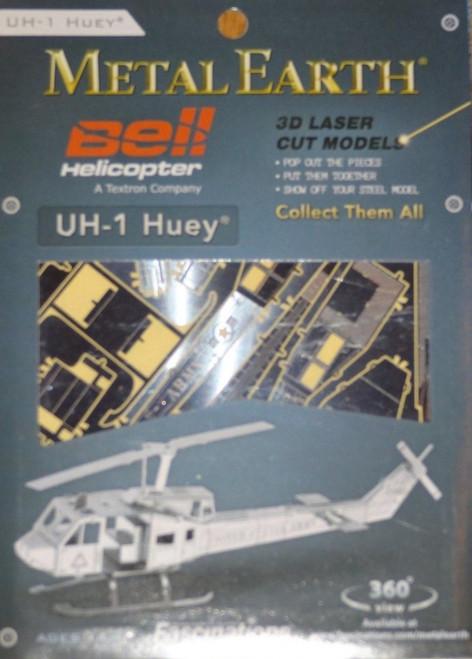 UH-1 Huey Helicopter Metal Earth