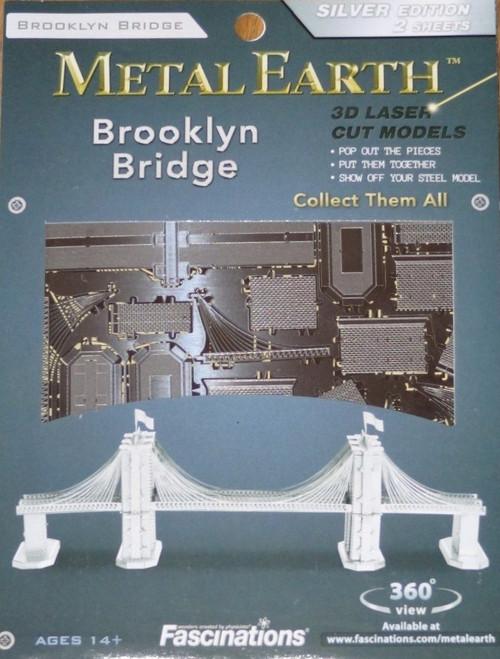 Brooklyn Bridge Metal Earth