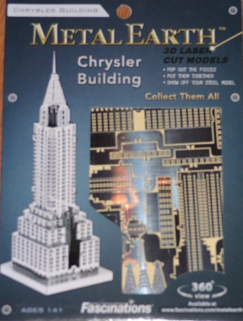Chrysler Building Metal Earth