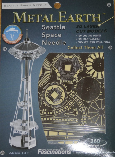 Seattle Space Needle Metal Earth