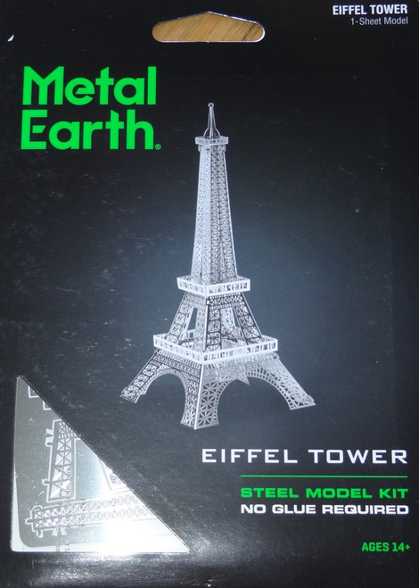 Eiffel Tower Metal Earth