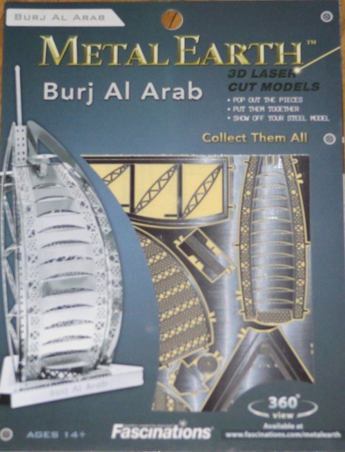 Burj al Arab Metal Earth