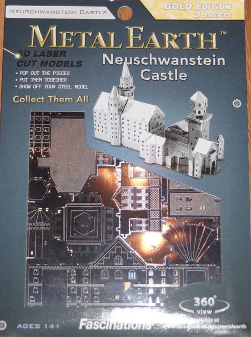 Neuschwanstein Castle Metal Earth