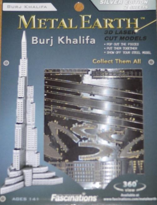 Burj Khalifa Metal Earth