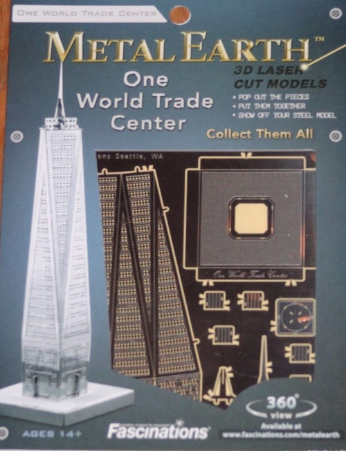 One World Trade Center Metal Earth