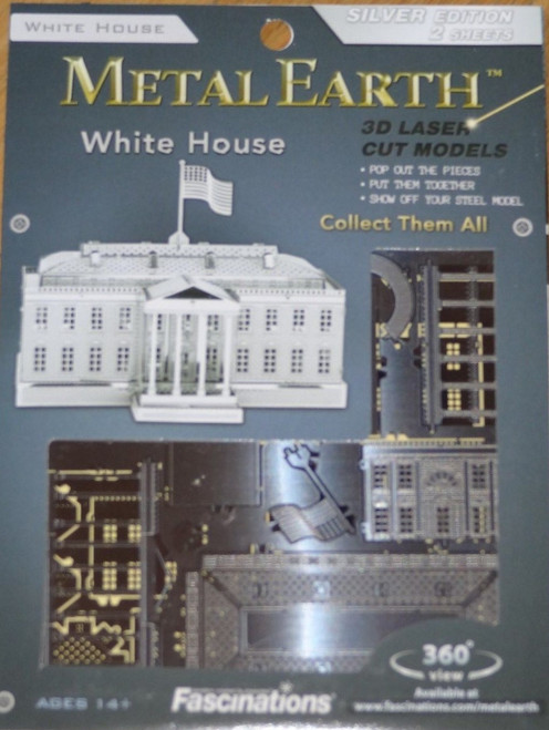 White House Metal Earth