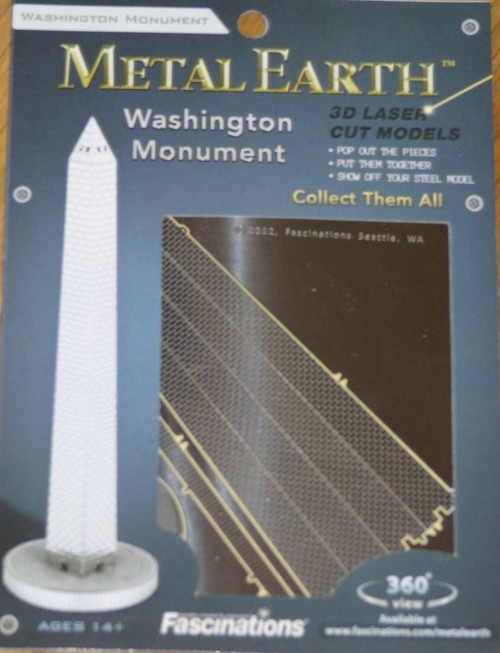 Washington Monument Metal Earth