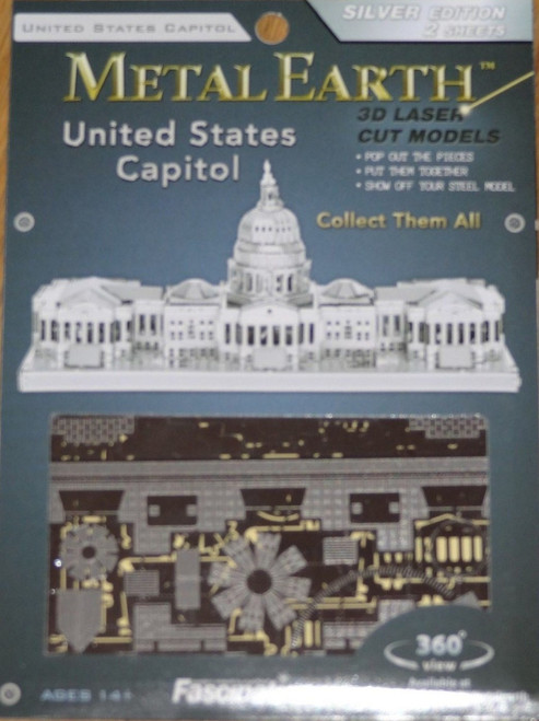 U.S. Capitol Building Metal Earth