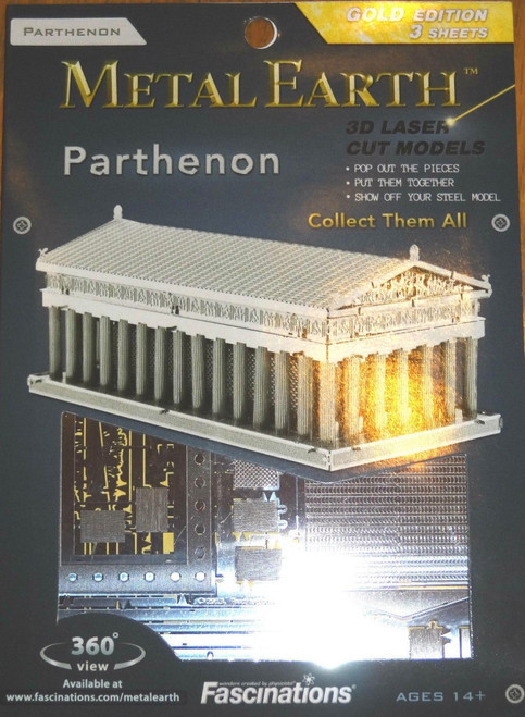 Parthenon Metal Earth