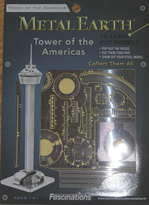 Tower of the Americas Metal Earth