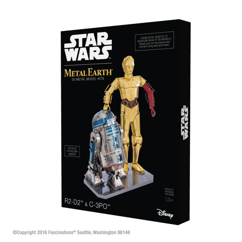 Star Wars R2-D2 & C-3PO Box Set Metal Earth