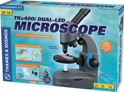 TKx400i Duel-Led Microscope and Biology Experiment Kit