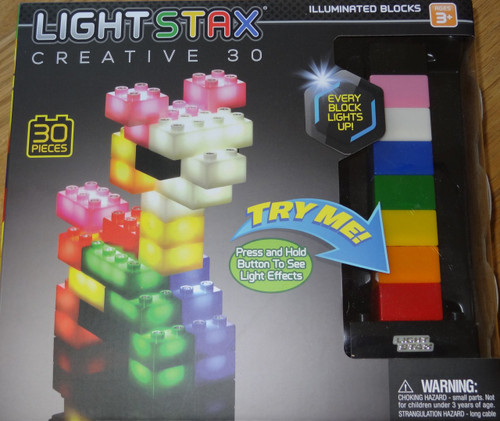 Light Stax Creative 30 piece Light up Building Block