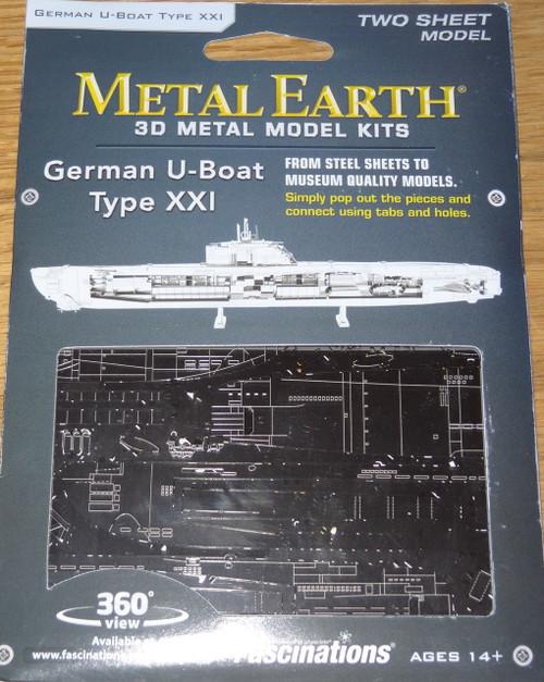 German U-Boat Type XXI Metal Earth