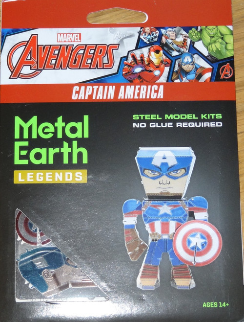 Captain America Metal Earth Legends